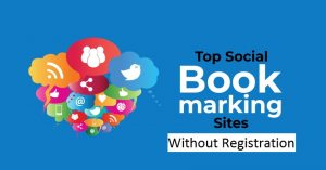 Free Without Registration Social Bookmarking Sites List