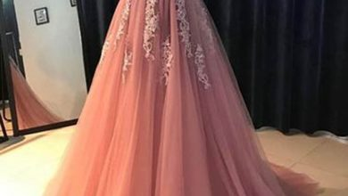 Get Ready to Blush with These Pink Prom Dresses