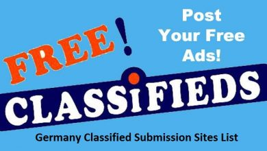 Top 60+ Germany Classified Submission Sites List