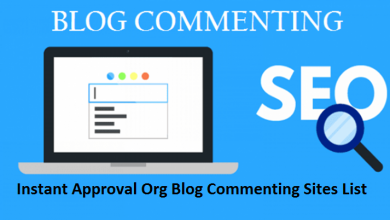 Instant Approval Org Blog Commenting Sites List