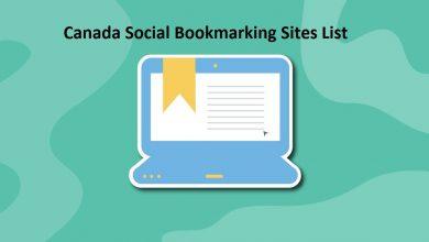 Canada Social Bookmarking Sites List